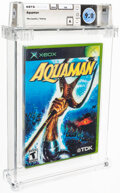 Video Games:Xbox, Aquaman - Wata 9.0 A Sealed [Microsoft Security Label], XBOX TDK 2003 USA....