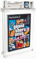 "Video Games:Playstation, Grand Theft Auto: Vice City - Wata 8.0 A++ Sealed [""Trilogy"" Release, Later Production], PS2 Rockstar 2002 USA. ..."