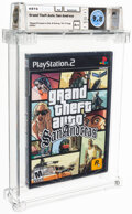 """Video Games:Playstation, Grand Theft Auto: San Andreas - Wata 9.8 A++ Sealed [""""Trilogy"""" Release, Later Production], PS2 Rockstar 2004 USA. ..."""