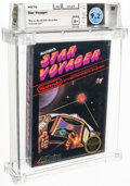 Video Games:Nintendo, Star Voyager - Wata 9.2 A+ Sealed [Rev-A, Round SOQ, Mid-Production], NES Acclaim 1987 USA....
