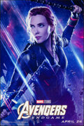 """Movie Posters:Action, Avengers: Endgame (Walt Disney Studios, 2019). Rolled, Very Fine. Bus Shelter (48"""" X 72"""") SS Advance. Black Widow Style. Act..."""