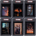 Basketball Cards:Lots, 1985 - 1986 Nike (Type 1) Poster Cards Collection (6) With Three Jordan Cards. ...
