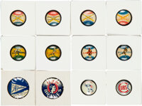 1930's-50's PR-Baseball Pins Collection (76) with Sets