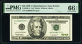 Small Size:Federal Reserve Notes, Fr. 2083-A* $20 1996 Federal Reserve Star Note. PMG Gem Uncirculated 66 EPQ.. ...
