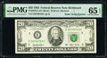 Small Size:Federal Reserve Notes, Radar Serial Number 36700763 Fr. 2079-E $20 1993 Federal Reserve Note. PMG Gem Uncirculated 65 EPQ.. ...