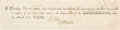 Autographs:Military Figures, Robert E. Lee Partial Document Signed.... (Total: 2 Items)
