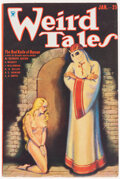 Pulps:Horror, Weird Tales - January 1934 (Popular Fiction) Condition: FN+....