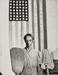 Photographs, Gordon Parks (American, 1912-2006). Black American History (5 works), 1942-1943. Gelatin silver, printed later. 9-1/2 x ... (Total: 5 )