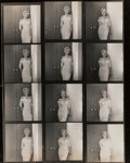 Photographs, Philippe Halsman (American, 1906-1979). Marilyn Monroe posing for her first LIFE Magazine cover, 1952. Gelatin silver. 1...