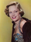 Photographs, Harry Warnecke (American, 1900-1984). Alexis Smith, 1951. Color carbro. 15 x 11 inches (38.1 x 27.9 cm). Titled and date...