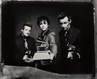 Danny Clinch (American, 1964) Green Day at the Grammys, 2006 Toned gelatin silver, printed 2008 18 x 22-1/2 inches (4