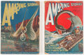 Pulps:Science Fiction, Amazing Stories Group of 2 (Ziff-Davis, 1926)....