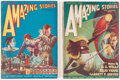 Pulps:Science Fiction, Amazing Stories Group of 2 (Ziff-Davis, 1926) Condition: Average VG+.... (Total: 2 Items)
