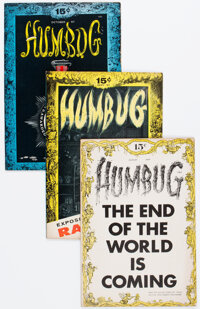 Humbug Group of 8 (Humbug, 1957-58) Condition: Average VF.... (Total: 8)