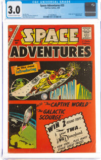 Space Adventures #33 (Charlton, 1960) CGC GD/VG 3.0 Off-white to white pages