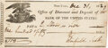 Autographs:Military Figures, Winfield Scott Signed Check,...