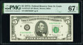 Small Size:Federal Reserve Notes, Fr. 1975-H* $5 1977A Federal Reserve Star Note. PMG Superb Gem Unc 67 EPQ.. ...