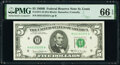 Small Size:Federal Reserve Notes, Fr. 1971-H $5 1969B Federal Reserve Note. PMG Gem Uncirculated 66 EPQ.. ...