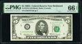 Small Size:Federal Reserve Notes, Fr. 1970-E $5 1969A Federal Reserve Note. PMG Gem Uncirculated 66 EPQ.. ...