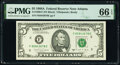 Small Size:Federal Reserve Notes, Fr. 1980-F; G $5 1988A Federal Reserve Notes. PMG Graded Gem Uncirculated 66 EPQ; Superb Gem Unc 67 EPQ.. ... (Total: 2 notes)