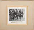 Autographs, Thomas Edison, Luther Burbank, and Henry Ford Signed Photograph. ...