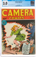 Golden Age (1938-1955):Adventure, Camera Comics #9 (U. S. Camera Publishing Corp., 1946) CGC GD/VG 3.0 Cream to off-white pages....