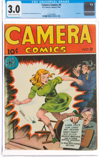 Camera Comics #9 (U. S. Camera Publishing Corp., 1946) CGC GD/VG 3.0 Cream to off-white pages