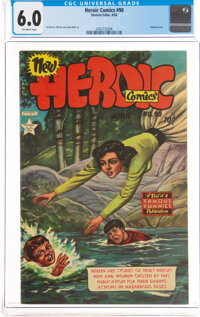 Heroic Comics #90 (Eastern Color, 1954) CGC FN 6.0 Off-white pages