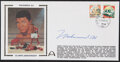 Boxing Collectibles:Autographs, Muhammad Ali 30th Anniversary Signed First Day Cover....