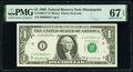 Small Size:Federal Reserve Notes, Fr. 1903-I* $1 1969 Federal Reserve Star Note. PMG Superb ...