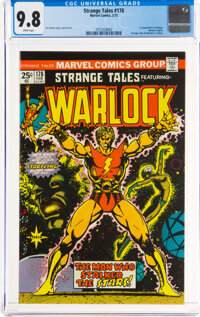 Strange Tales #178 (Marvel, 1975) CGC NM/MT 9.8 White pages