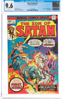 Son of Satan #1 (Marvel, 1975) CGC NM+ 9.6 White pages