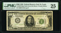 Fr. 2200-H $500 1928 Dark Green Seal Federal Reserve Note. PMG Very Fine 25