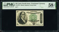 Fractional Currency:Fourth Issue, Fr. 1379 50¢ Fourth Issue Dexter PMG Choice About Unc 58 EPQ.. ...