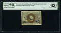 Fractional Currency:Second Issue, Fr. 1233 5¢ Second Issue PMG Choice Uncirculated 63 EPQ.. ...