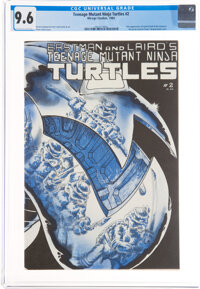 Teenage Mutant Ninja Turtles #2 (Mirage Studios, 1984) CGC NM+ 9.6 Off-white to white pages