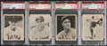 Baseball Cards:Lots, 1939 Play Ball PSA Graded Quartet (4) - Davis, Fletcher, C...