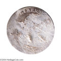 Early Half Dimes: , 1802 H10C --Damaged, Bent--ANACS. Fair Details, Net Poor 1.