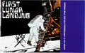 """Explorers:Space Exploration, Neil Armstrong Signed """"First Lunar Landing"""" Color Brochure from Monogram Models, with Zarelli Letter of Authenticity...."""
