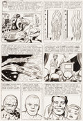 Original Comic Art:Story Page, Jack Kirby and Dick Ayers Fantastic Four