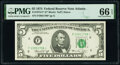 Small Size:Federal Reserve Notes, Fr. 1973-F* $5 1974 Federal Reserve Star Note. PMG Gem Unc...