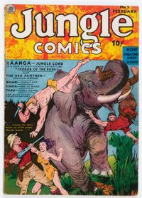 Jungle Comics #2 (Fiction House, 1940) Condition: VG-