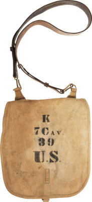 Canvas 7th Cavalry Knapsack