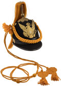 Military & Patriotic:Indian Wars, 8th Cavalry Regiment Dress Helmet. Fine ex...