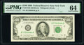 Fr. 2173-B $100 1990 Federal Reserve Notes. B-B and B-C Blocks. PMG Graded Choice Uncirculated 64; Gem Uncirculated 66 E...