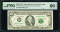 Small Size:Federal Reserve Notes, Fr. 2168-H $100 1977 Federal Reserve Note. PMG Gem Uncirculated 66 EPQ.. ...