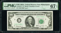 Small Size:Federal Reserve Notes, Fr. 2163-C* $100 1963A Federal Reserve Star Note. PMG Superb Gem Unc 67 EPQ.. ...