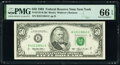 Fr. 2125-B $50 1993 Federal Reserve Note. PMG Gem Uncirculated 66 EPQ