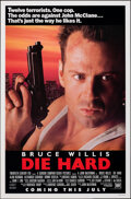 """Movie Posters:Action, Die Hard (20th Century Fox, 1988). Rolled, Near Mint-. One Sheet (27"""" X 41"""") SS Advance. Action.. ..."""