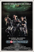 Movie Posters:Comedy, Ghostbusters (Columbia, 1984). Rolled, Very Fine+....